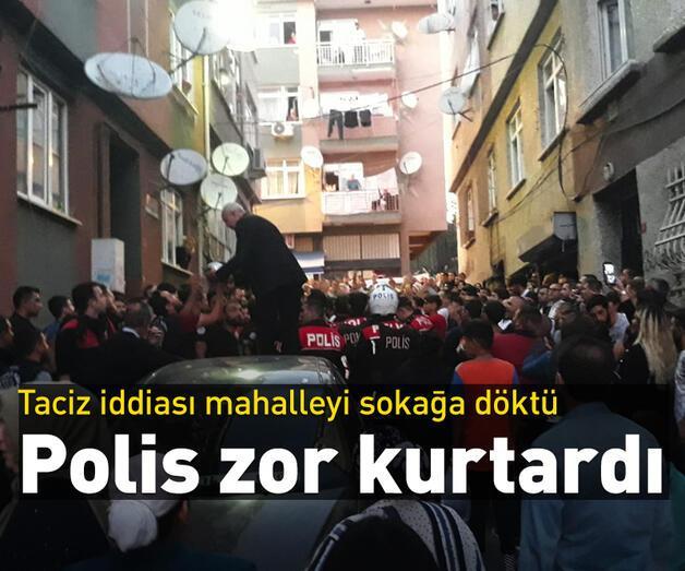 Son dakika: Fatih'te çocuğa taciz iddiası mahalleyi sokağa döktü