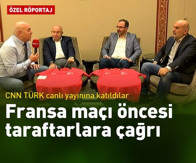 Son dakika: Bakan Kasapoğlu ve Özdemir CNN TÜRK'te