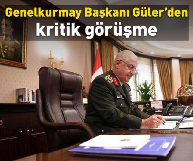 Son dakika: Genelkurmay Başkanı Güler, Rus mevkidaşı ile görüştü