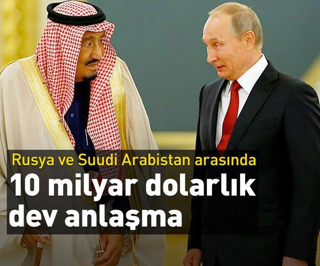 Son dakika: Rusya ve Suudi Arabistan enerjide iş birliğini artırıyor