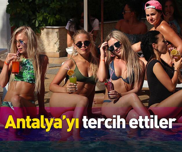 Son dakika: Antalya'yı tercih ettiler