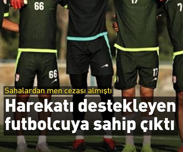 Son dakika: Traktör'den Barış Pınarı Harekatı'nı destekleyen futbolcusuna destek