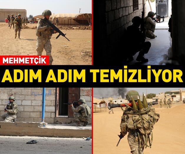 Son dakika: Mehmetçik adım adım terörü temizliyor