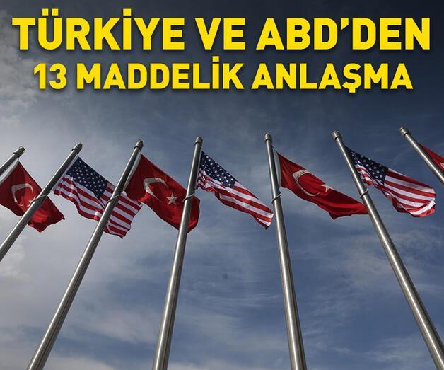 Son dakika: Türkiye ve ABD'den ortak açıklama
