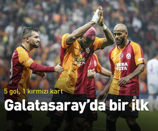 Son dakika: 5 gollü düelloyu Galatasaray kazandı