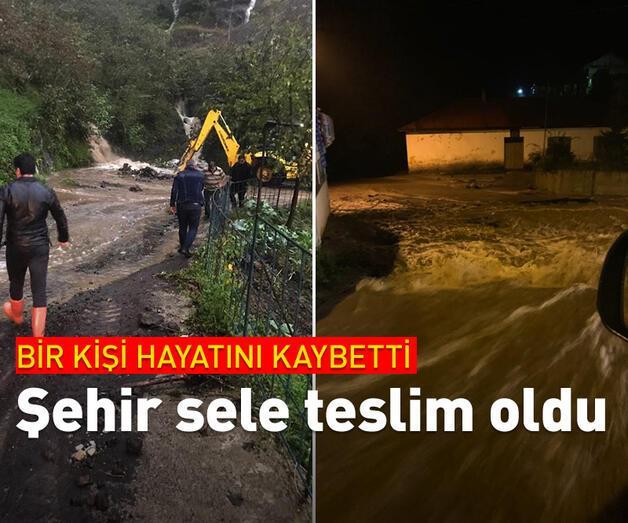 Son dakika: Giresun'da sağanak yağış etkili oldu, bir kişi kayıp