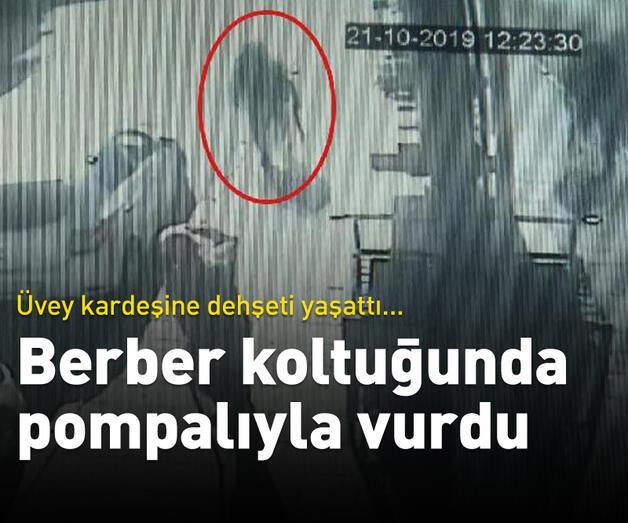 Son dakika: Berber koltuğunda pompalıyla vurdu