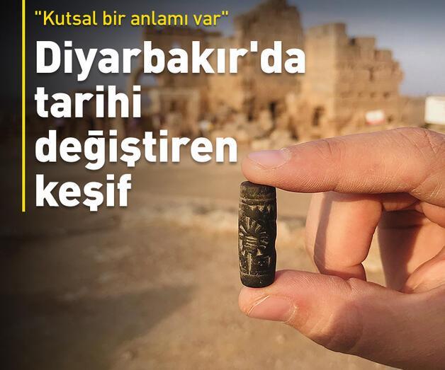 Son dakika: Diyarbakır'da tarihi değiştiren keşif