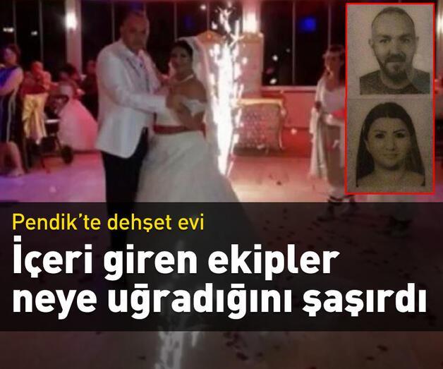 Son dakika: Pendik'te dehşet evi: Karısını öldürüp intihar etti