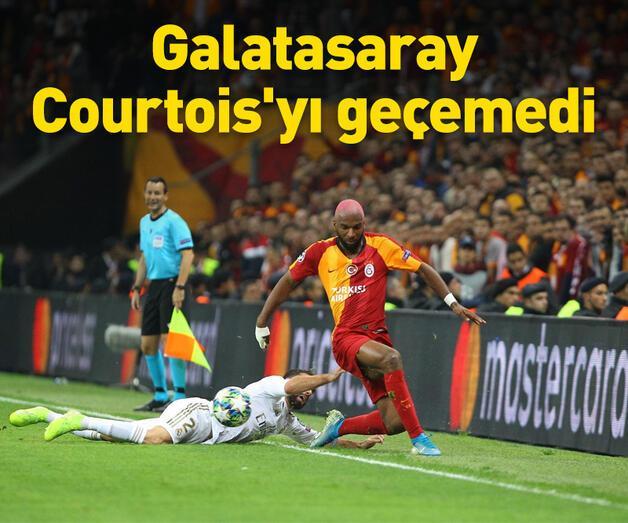 Son dakika: Galatasaray Courtois'yı geçemedi