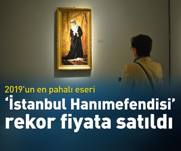 """Son dakika: """"İstanbul Hanımefendisi"""" Avusturya'da """"rekor"""" fiyata alıcı buldu"""
