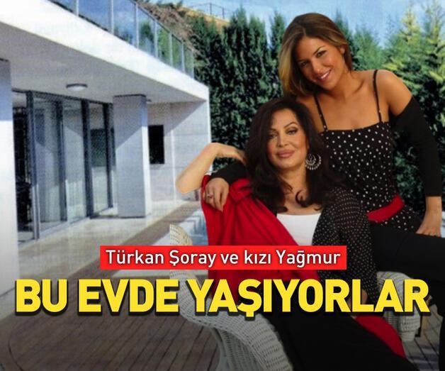 Son dakika: Türkan Şoray ve kızı Yağmur bu evde yaşıyor!