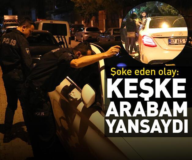 Son dakika: Ablasının aracını çalıp polisten kaçtı
