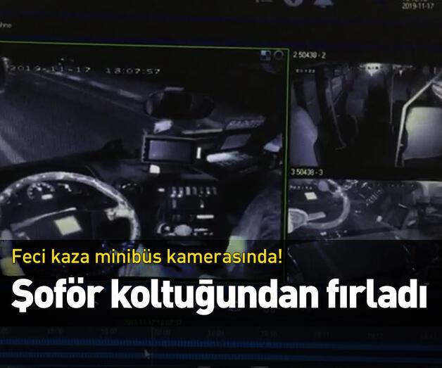 Son dakika: Şoför koltuğundan fırladı
