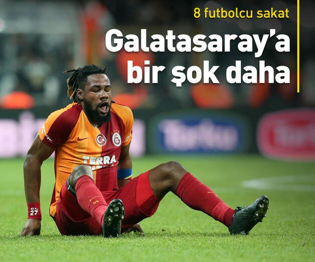 Son dakika: Galatasaray'a bir şok daha