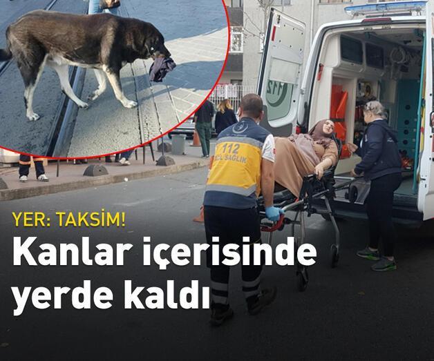 Son dakika: Yer Taksim! Kanlar içerisinde kaldı