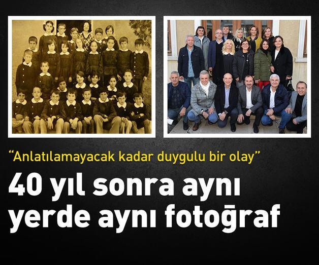 Son dakika: 40 yıl sonra aynı yerde aynı fotoğraf