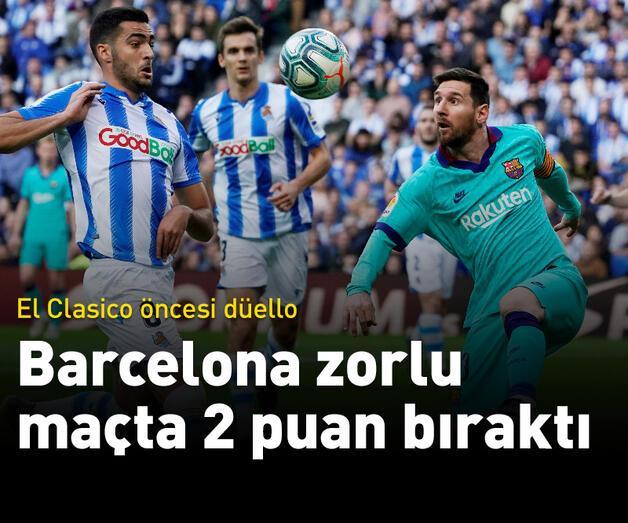 Son dakika: Real Sociedad - Barcelona: 2-2