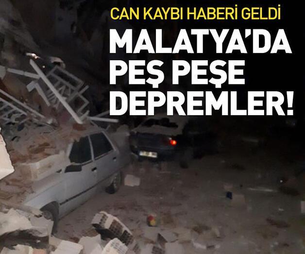Son dakika: Malatya depremle sarsıldı!