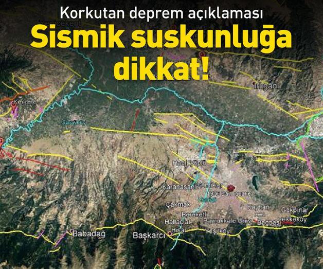 Son dakika: Korkutan deprem açıklaması!