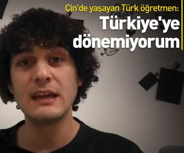Son dakika: Türkiye'ye dönemiyorum