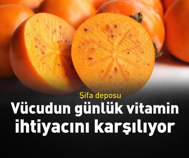 Son dakika: Vücudun günlük vitamin ihtiyacını karşılıyor