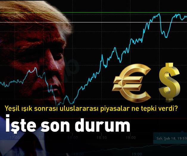 Son dakika: Trump'ın yeşil ışığına uluslararası piyasalar ne tepki verdi?