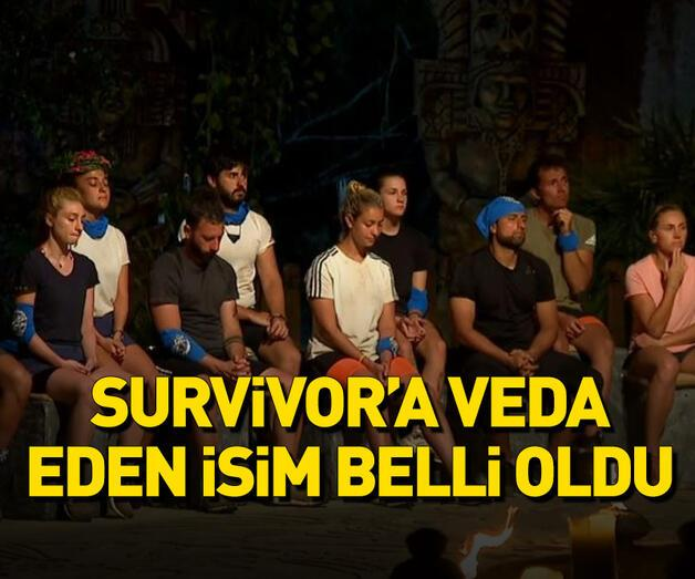 Son dakika: Survivor'dan kim elendi?