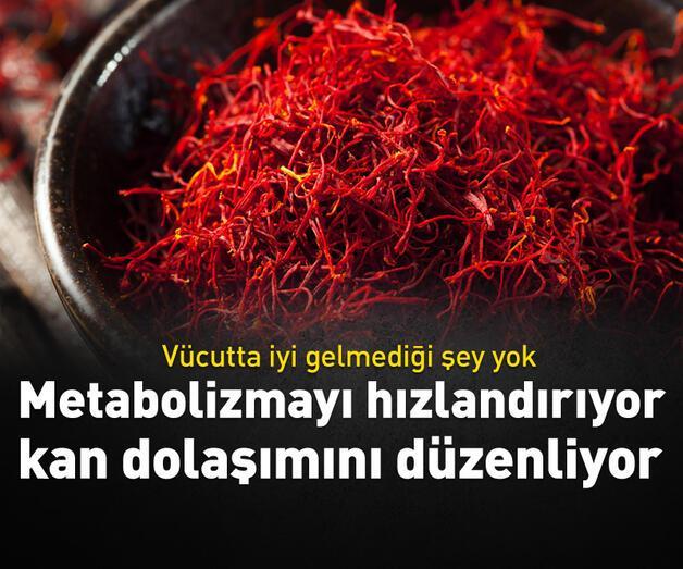 Son dakika: Metabolizmayı hızlandırıyor, kan dolaşımını düzenliyor!