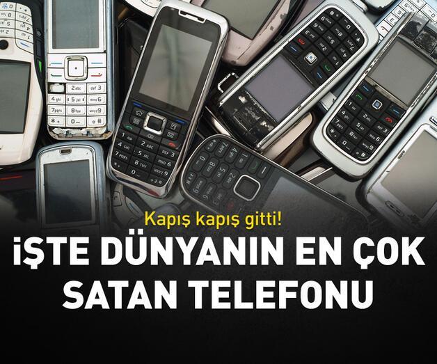 Son dakika: İşte dünyanın en çok satan telefonu!