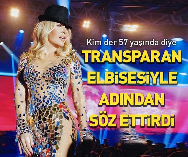Son dakika: Transparan elbisesiyle adından söz ettirdi