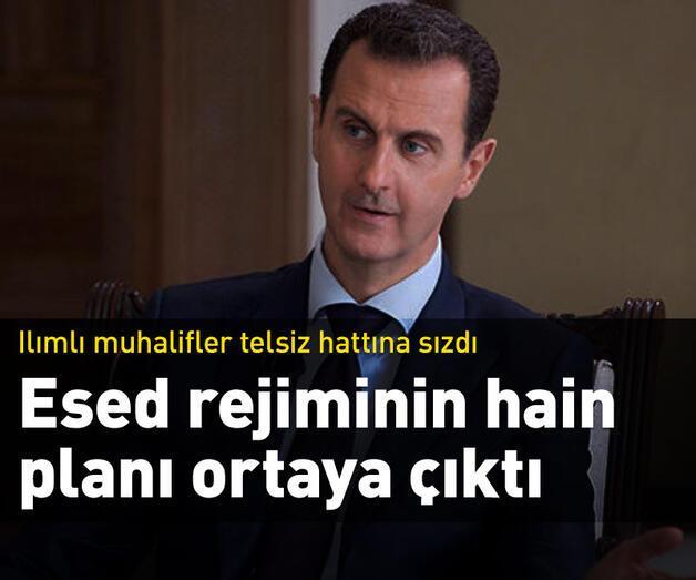 Son dakika: Esed rejiminin hain planı ortaya çıktı