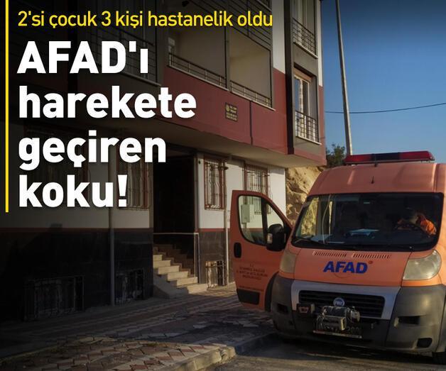 Son dakika: AFAD'ı harekete geçiren koku!