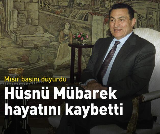 Son dakika: Hüsnü Mübarek hayatını kaybetti