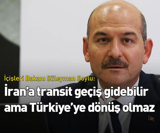 Son dakika: 'Türkiye'den İran'a geçiş olabilir ama...'