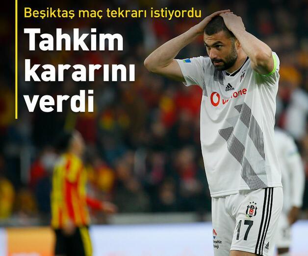 Son dakika: Göztepe-Beşiktaş maçıyla ilgili kesin karar çıktı