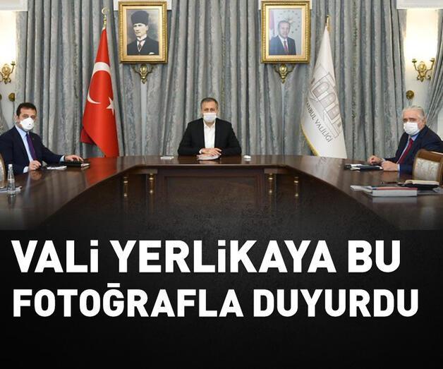 Son dakika: İstanbul Valiliği'nde İl İdare Kurulu toplantısı