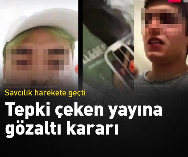 Son dakika: Karantina yurdunda hakaret içeren yayınlara gözaltı kararı