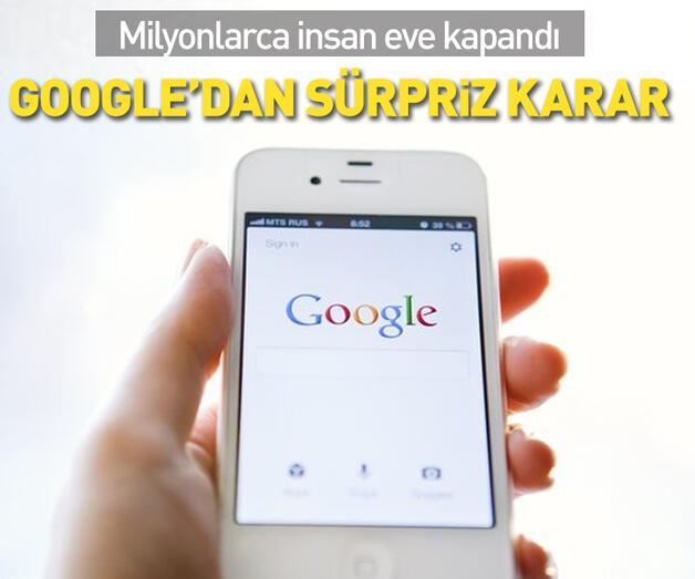 Son dakika: Google'dan sürpriz karar!