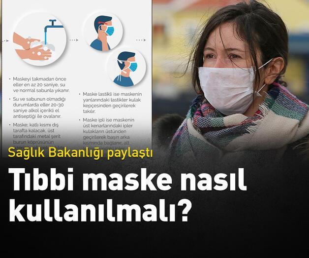Son dakika: Sağlık Bakanlığı'ndan 'tıbbi maske' kullanımı bilgilendirmesi