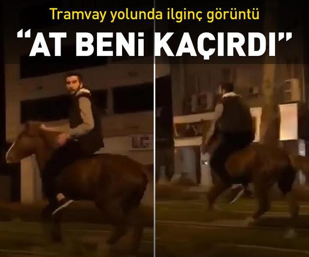 """Son dakika: """"At beni kaçırdı"""""""