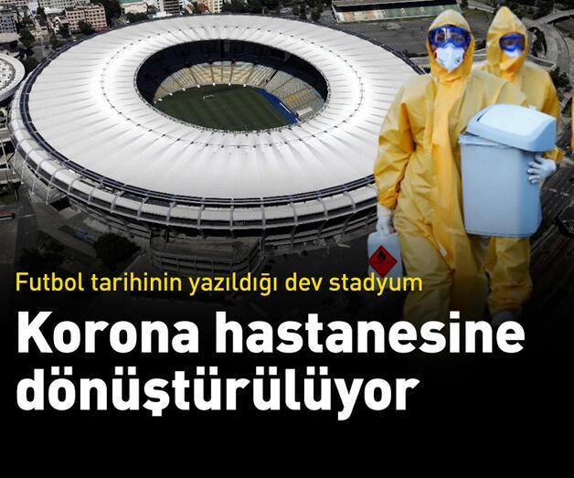 Son dakika: Maracana Stadı koronavirüs hastanesine dönüştürülüyor