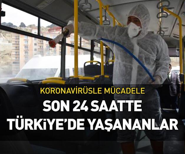 Son dakika: Son 24 saatte Türkiye'de yaşananlar