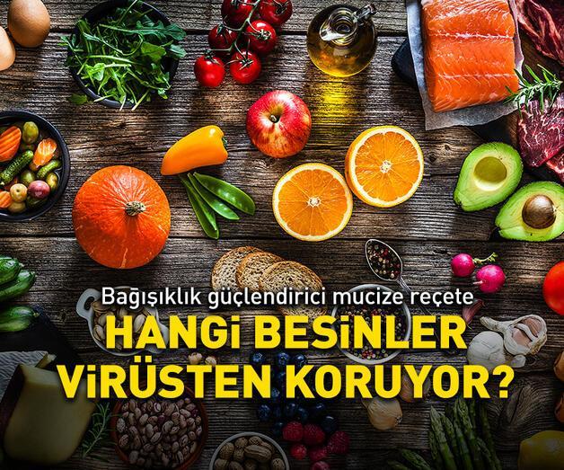 Son dakika: Hangi besinler virüsten koruyor?