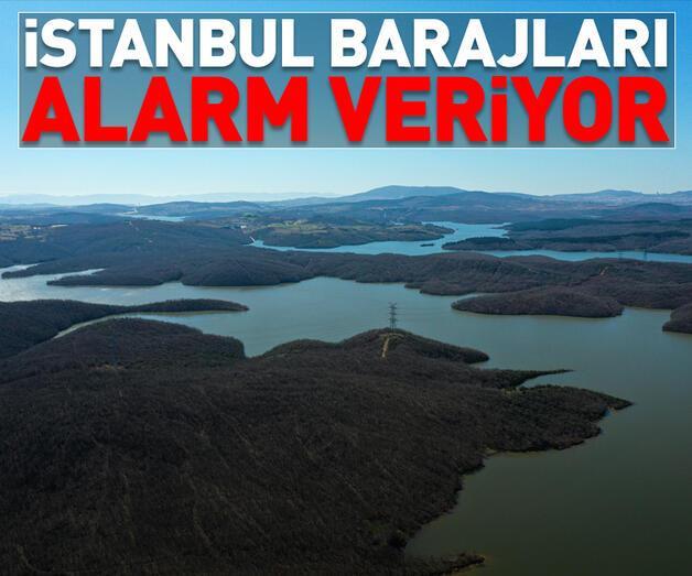 Son dakika: İstanbulbarajları alarm veriyor