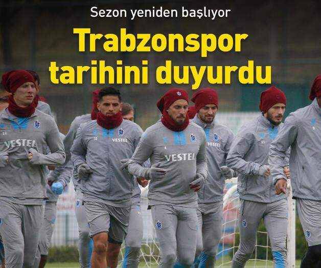 Son dakika: Trabzonspor 2 Mayıs'ta idmanlara başlayacak