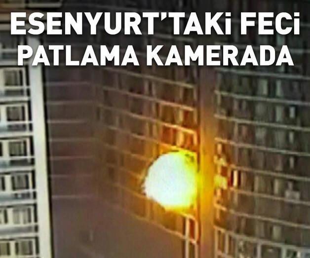 Son dakika: Esenyurt'ta bir binada patlama