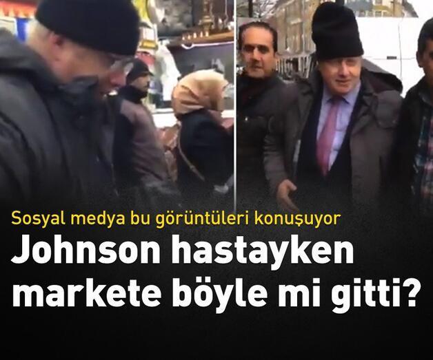 Son dakika: Boris Johnson hastayken markete mi gitti?
