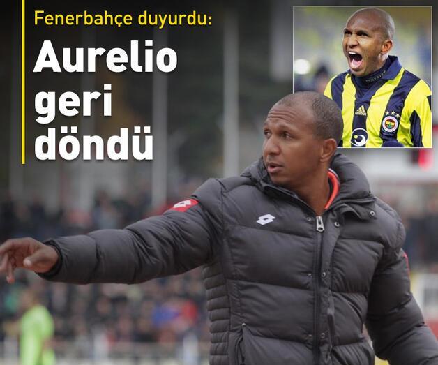 Son dakika: Aurelio yeniden Fenerbahçe'de