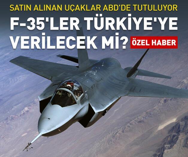 Son dakika: F-35'ler Türkiye'ye verilecek mi?